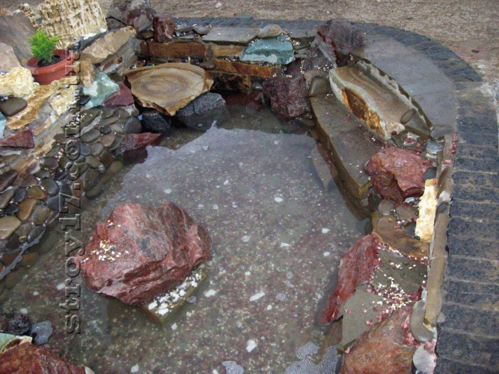 Сооружение каскадов и водопадов фото 2