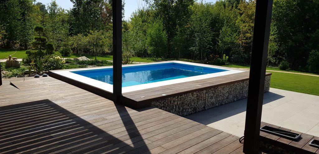 Террасная доска у бассейна фото 2