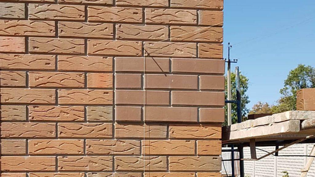Клинкерный фасадный кирпич фото 1