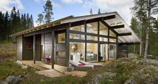 Финский дом фото