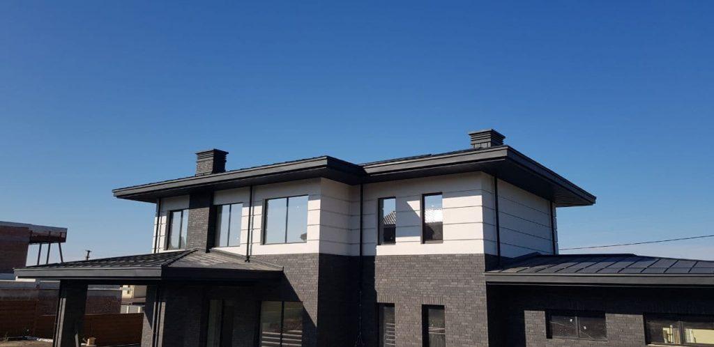 Красивый дом из кирпича фото 2