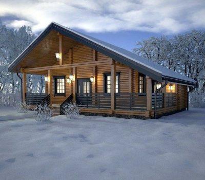 Строительство домов в зимнее время: особенности и преимущества