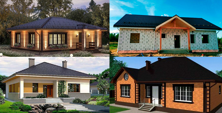 Одноэтажные дома — за и против
