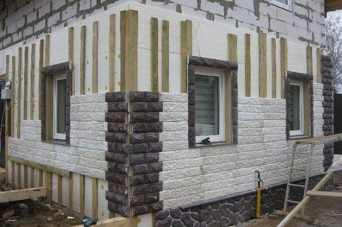 Утепление дома из газоблока снаружи фото