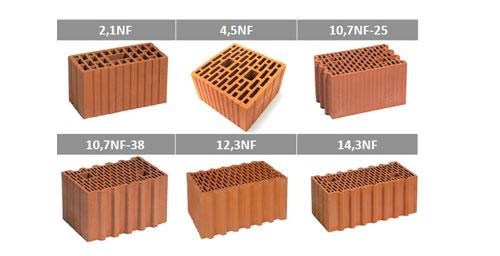 Маркировка керамических блоков