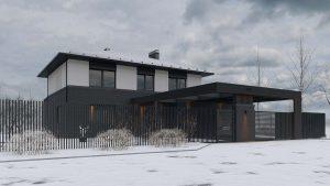 Двухэтажный дом в River Park фото 1