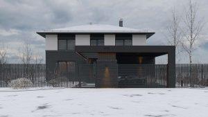 Двухэтажный дом в River Park фото 10