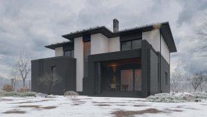 Двухэтажный дом в River Park фото 2