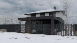 Двухэтажный дом в River Park фото 6