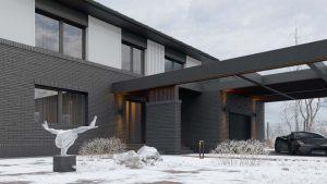 Двухэтажный дом в River Park фото 8