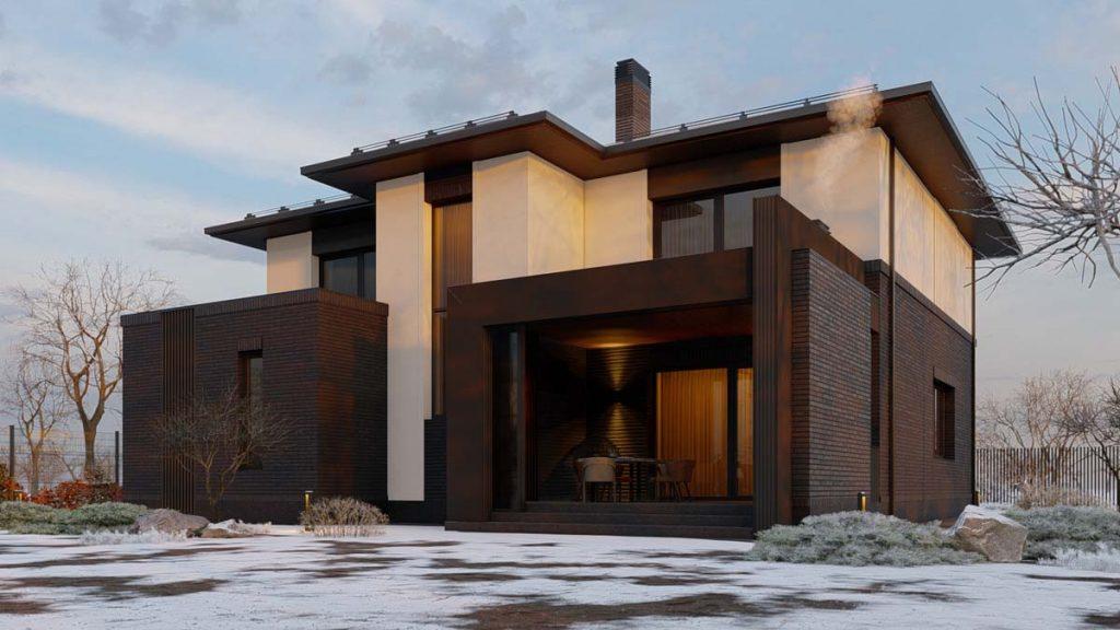 Проект двухэтажного дома в River Park