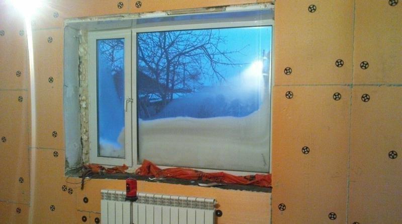 Внутреннее утепление стен фото