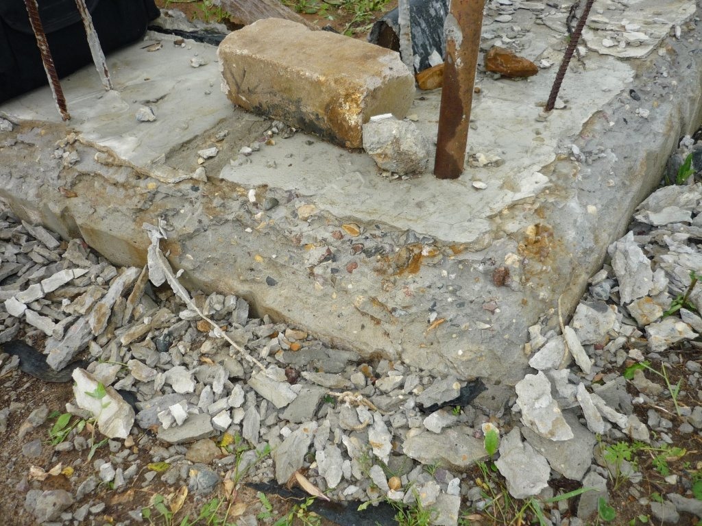 Последствия замерзания бетона фото